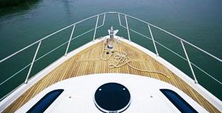 武汉浩宏游艇甲板施工案例