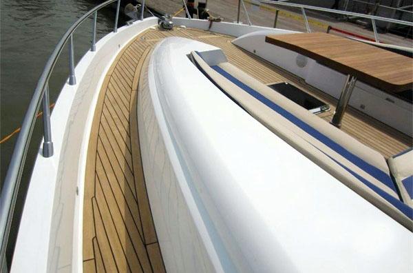 柚木游艇甲板